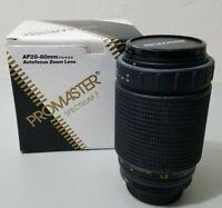 ProMaster Spectrum 80-200mm F3.5-5.6 Lens for Pentax K Mount SLR Camera *GOOD*