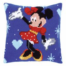 "Vervaco Disney Minnie Mouse Grueso Cojín De Punto De Cruz Kit Frontal 16"" X 16"""