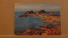 Unposted Postcard La Corbiere lighthouse, Jersey EC