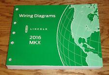 Original 2016 Lincoln MKX Wiring Diagrams Manual 16