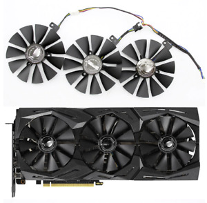 Fan For ASUS ROG STRIX RTX2070 RTX 2070 8G GAMING Set 87mm Graphic Card Cooler