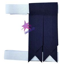 CC Kilt Sock Flashes Plain Navy/Scottish Kilt Hose Flashes Tartan/Kilt Flashes