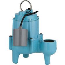 "Little Giant 9SN-CIA-RF - 4/10 HP Cast Iron Sewage Pump (2"") w/ Piggyback Tet..."