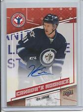 16-17 Upper Deck Kyle Connor NHCD Hockey Card Day Auto #CANKC (Extremely Rare)