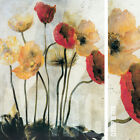 "30W""x40H"" SECRET STORY by DENNIS CARNEY - BEAUTIFUL LONG STEMMED FLORAL CANVAS"