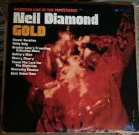 Neil Diamond Gold Vinyl Lp Recorded Live at the Troubadour Terre Haute pressing