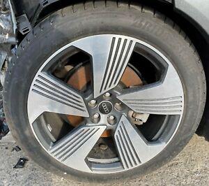 "Audi E-Tron Wheel Alloy Rim Tyre Aluminium 9.5Jx21"" ET36 Genuine Continental"
