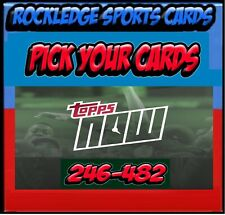 2016 Topps Now Baseball Singles [Pick Your Cards 246-482]