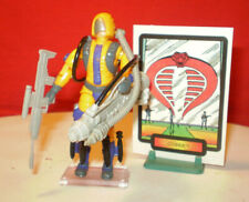 1989 GI JOE COBRA ANTI-TANK HEAT VIPER TROOPER ARMY BUILDER ENEMY VINTAGE ARAH *