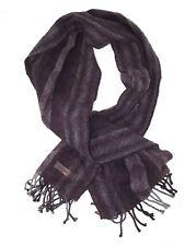 navigare sciarpa uomo viola lana made italy