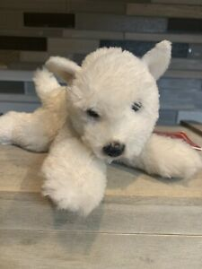 Retired Toranto the White Terrier Plush by Yomiko Classics from Russ Stuffed Toy