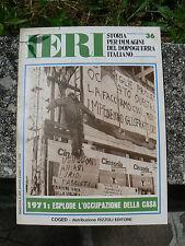 NUOVO AYER HISTORIAL DE LOS IMÁGENES PERÍODO POSGUERRA ITALIANO NÚM 36 COGED