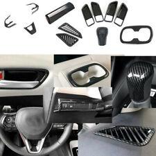 12X ABS Carbon fiber Carbon Fiber Interior Cover Trim For Toyota Corolla 2019+