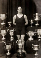 OLD PHOTO Featuring The English Swimming And Water Polo Jack Hatfield 1