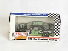 Racing Collectables 1:64 Diecast NASCAR #36 Cox Products Pontiac 1991 NEW