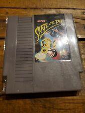 SKATE OR DIE NES Nintendo