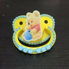 """""""Nom nom"""" outlined Adult sized pacifier"""