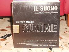 AMEDEO MINGHI - IL SUONO - cd singolo cardsleave - testo PASQUALE PANELLA 2005