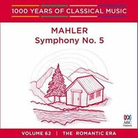 MAHLER Symphony No. 5 CD NEW 1000 Years Of Classical Music Melbourne Symphony