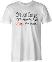 Fun with Flags The Big Bang Theory Geek Sheldon Cooper Funny Joke Style T-Shirt