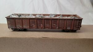 Exactrail Express Series HO Scale SP 2420 Gondola W/ Load #800005 *Excellent*