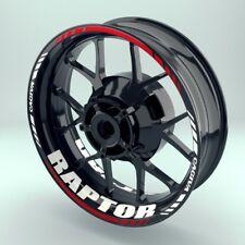 ADESIVI ruote cerchi moto bordo adesivo wheelsticker CAGIVA _ RAPTOR Set