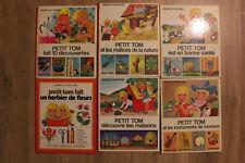 """Lot de 6 """"Petit Tom""""  - Gérard et Alain Grée - Casterman - 1973 à 1980"""