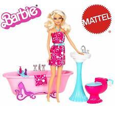 Muñeca Barbie con accesorios de casa original Mattel
