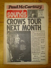 SOUNDS 1973 APR 21 STONE THE CROWS TRAFFIC YES ZAPPA