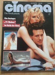 Cinema 4-1986 nine 1/2 weeks Kim Basinger, Wiliam Goldmann, Absolute Beginners,