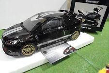 FORD FOCUS RS 2010 noir Le Mans au 1/18 d MINICHAMPS 100080066 voiture miniature
