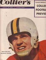 1952 Colliers August 30 - John Steinbeck; Football Preview; Airline Stewardesses