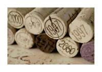 Vintage Wine Corks Sepia DIGITAL Counted Cross Stitch Pattern Chart Needlepoint