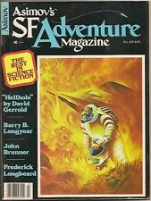 ASIMOV'S SF ADVENTURE MAGAZINE #4 BARRY LONGYEAR (3 stories), JOHN BRUNNER
