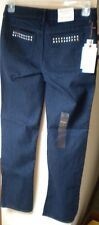 Simply Vera Wang Dark Mid-Rise Straight Leg Cotton Blend 31 Jean. Size 4. $50