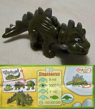 Personaggio überraschungsei Stegosaurus Magic bambini Nature un003 con biglietto