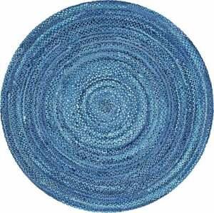 Rug 100% Natural Cotton rug handmade reversible modern living home decor rag rug
