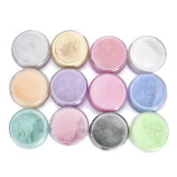 12 Color Mica Pigment Powder Eyeshadow Powder Soap Cosmetics Resin Colorant Dye