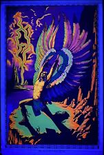 """Vintage """"Rainmaker"""" Black Light Poster - AA Sales - 1972 - Great Condition!!"""