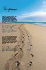 """Footprints In The Sand"" 11x17 Poster"