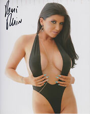 ROMI RAIN Adult Video Star SIGNED 8X10 Photo G PROOF