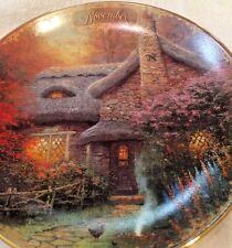 "Thomas Kinkade 1998 November 5.5"" Plate Autumn At Ashley's Cottage"