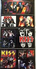 Kiss Band Sticker Set of Seven