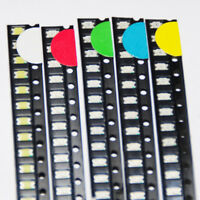 100pcs LED SMD 1206 Diodes Mix White Red Green Yellow Blue 5colors X 20pcs each