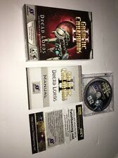 Galactic Civilizations 2:Dread Lords-PC-CD ROM-TESTED-RARE VINTAGE-SHIPS N 24 HR