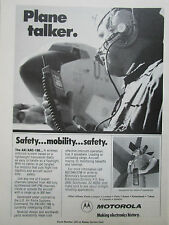 1/1981 PUB MOTOROLA COMMUNICATIONS AN/ARC-188 WIRELESS INTERCOM US AIR FORCE AD