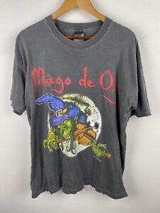 Vintage Mago De Oz 1997 Wizard Mens T Shirt Size XL Graphics Print Screen Stars