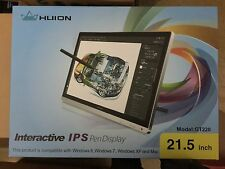 Huion GT-220 Pen Display Drawing Tablet Monitor IPS Panel + Glove US Free Ship