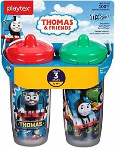 Playtex Sipsters Stage 3 Thomas The Train Spill-Proof, Leak-Proof, Break-Proof