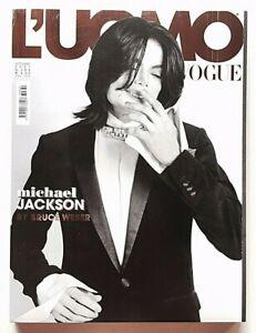 L'uomo Vogue n. 384 ottobre 2007 Michael Jackson Bruce Weber Chris Cornell
